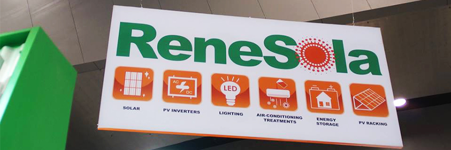 ReneSola launches new products at ALL ENERGY 2015